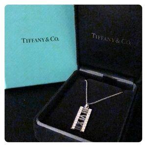 Tiffany and Co. 18K Diamond Atlas Necklace.